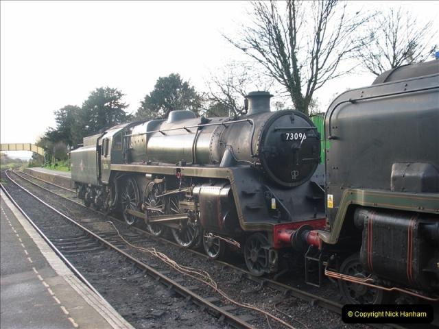 2005-12-14 Mid Hants Railway @ Ropley, Hampshire.  (11)112