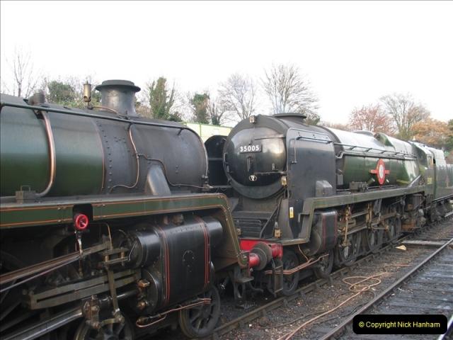 2005-12-14 Mid Hants Railway @ Ropley, Hampshire.  (12)113