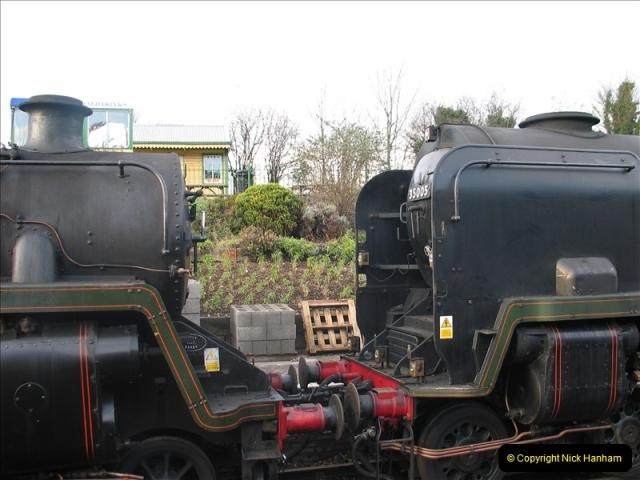 2005-12-14 Mid Hants Railway @ Ropley, Hampshire.  (13)114