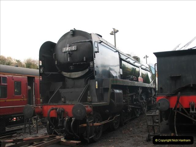 2005-12-14 Mid Hants Railway @ Ropley, Hampshire.  (14)115