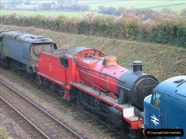 2005-12-14 Mid Hants Railway @ Ropley, Hampshire.  (2)103
