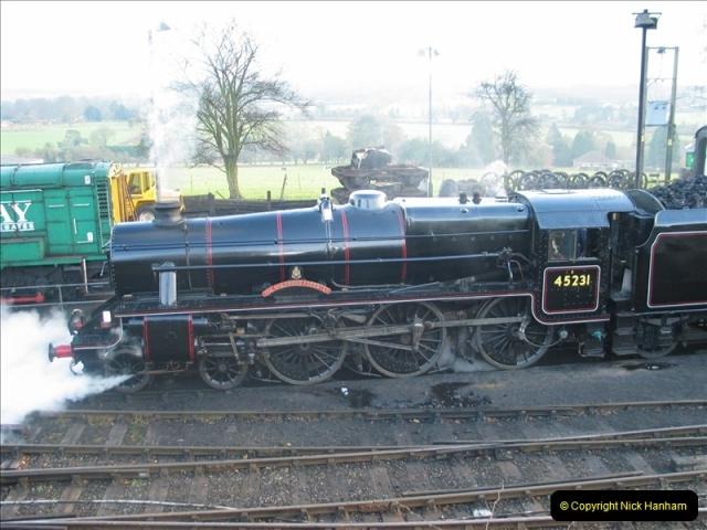 2005-12-14 Mid Hants Railway @ Ropley, Hampshire.  (4)105