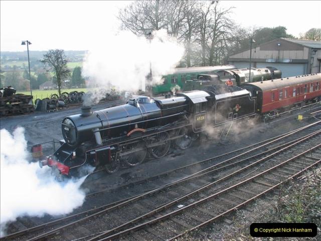 2005-12-14 Mid Hants Railway @ Ropley, Hampshire.  (5)106