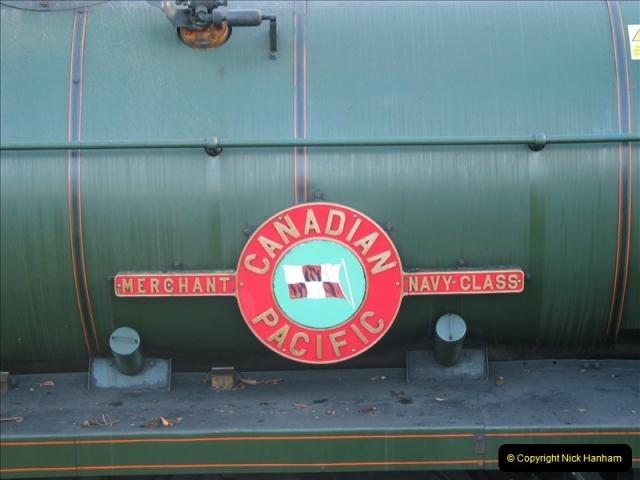 2005-12-14 Mid Hants Railway @ Ropley, Hampshire.  (7)108
