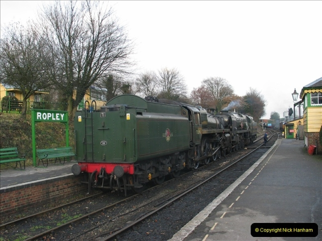 2005-12-14 Mid Hants Railway @ Ropley, Hampshire.  (9)110
