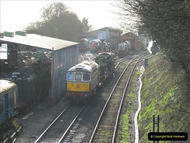 2007-02-15 The Mid Hants Railway, Ropley, Hampshire.  (1)123