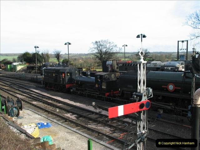 2007-02-15 The Mid Hants Railway, Ropley, Hampshire.  (7)129