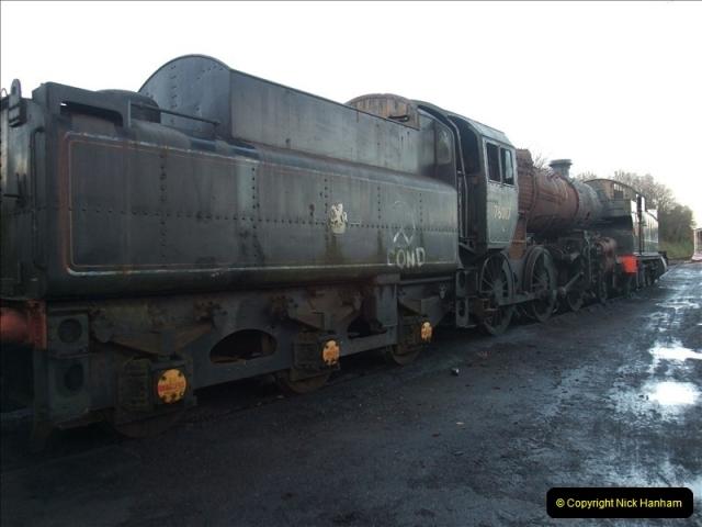 2009-11-30 Mid Hants Railway.  (33)279