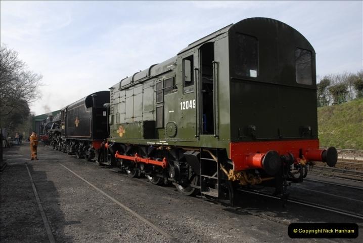 2011-03-24. Mid Hants Railway. (45)401