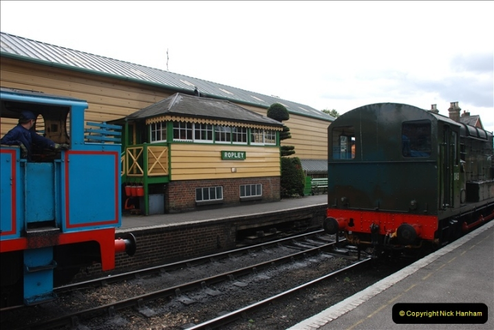 2011-08-15 Mid Hants Railway, Ropley, Hampshire.  (50)473