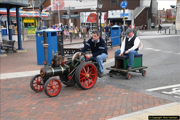 Mini Steam Machines on Poole Quay 16 May 2015
