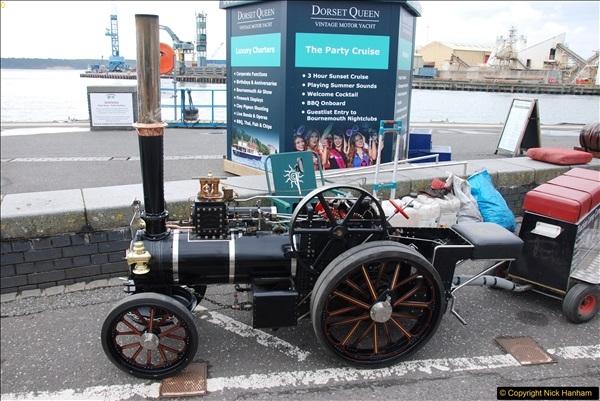 2017-05-13 Mini Steam on Poole Quay, Poole, Dorset.  (49)049