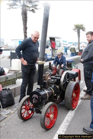 2017-05-13 Mini Steam on Poole Quay, Poole, Dorset.  (79)079