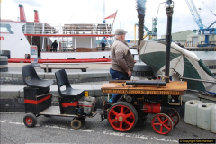 2017-05-13 Mini Steam on Poole Quay, Poole, Dorset.  (35)035