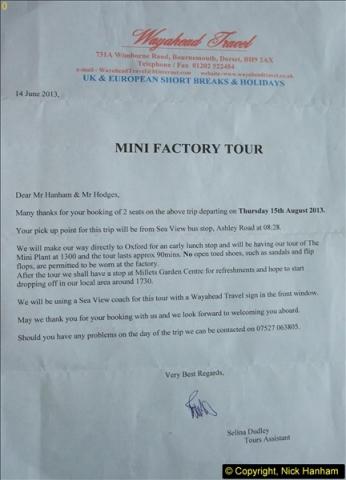 2013-08-15 The MINI Factory, Cowley, Oxford, Oxfordshire.  (1)01