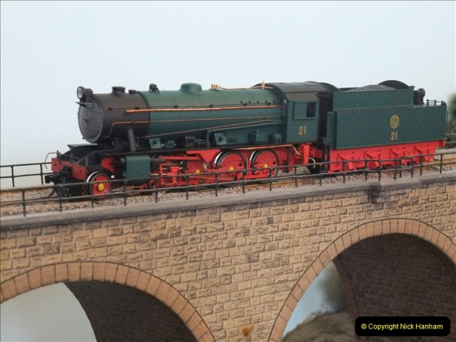 Some of your Host's model locomotives running on a friends railway.  (13)13