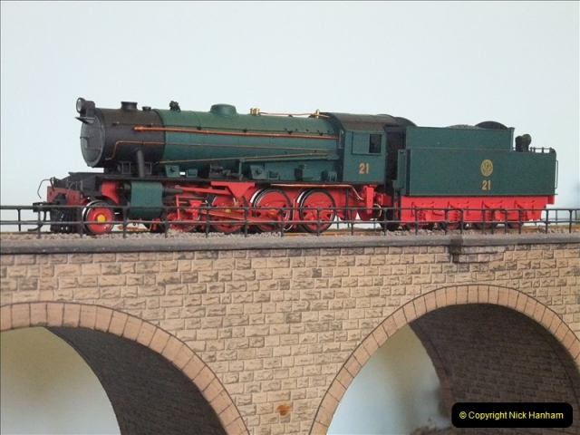 Some of your Host's model locomotives running on a friends railway.  (14)14