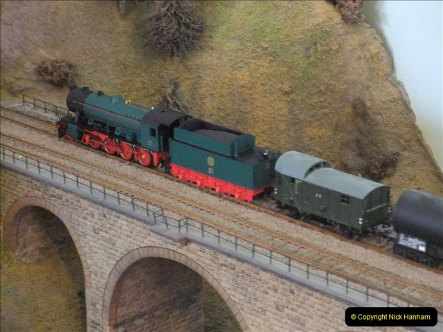 Some of your Host's model locomotives running on a friends railway.  (16)16