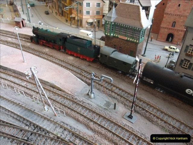 Some of your Host's model locomotives running on a friends railway.  (20)20