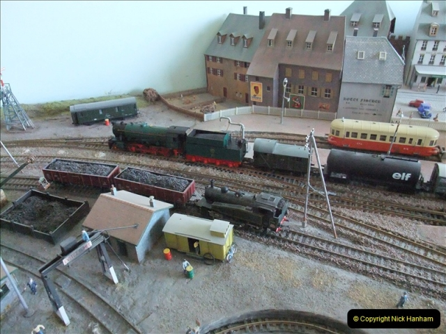Some of your Host's model locomotives running on a friends railway.  (21)21