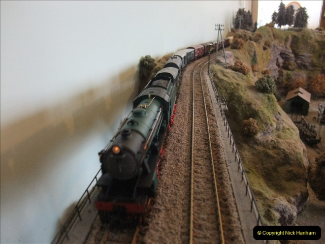 Some of your Host's model locomotives running on a friends railway.  (22)22