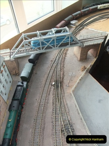 Some of your Host's model locomotives running on a friends railway.  (23)23