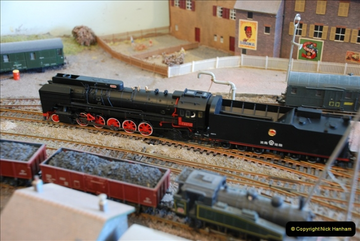 Some of your Host's model locomotives running on a friends railway.  (31)31