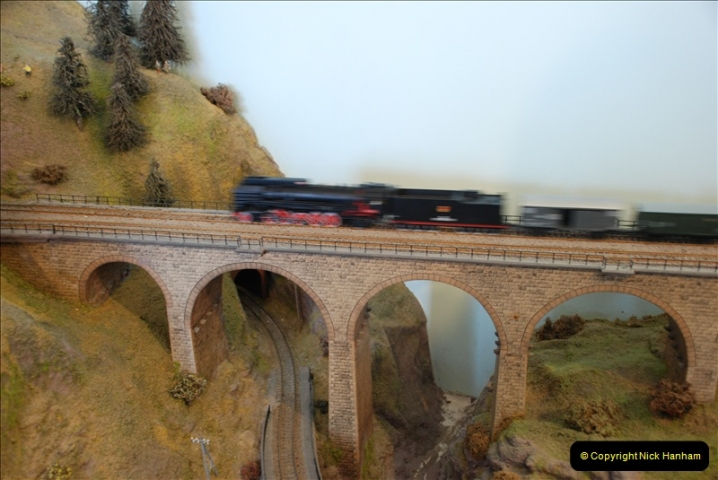 Some of your Host's model locomotives running on a friends railway.  (34)34