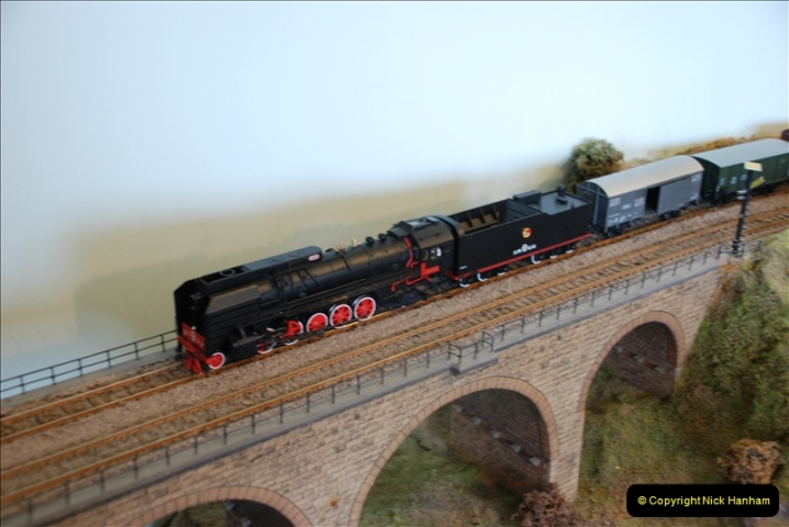 Some of your Host's model locomotives running on a friends railway.  (35)35