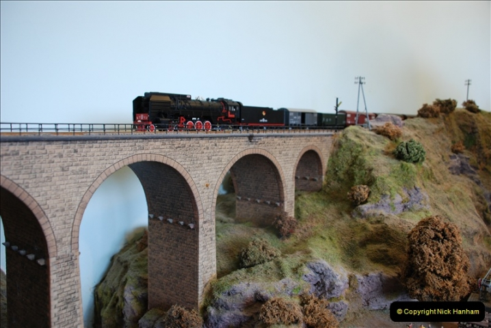 Some of your Host's model locomotives running on a friends railway.  (38)38