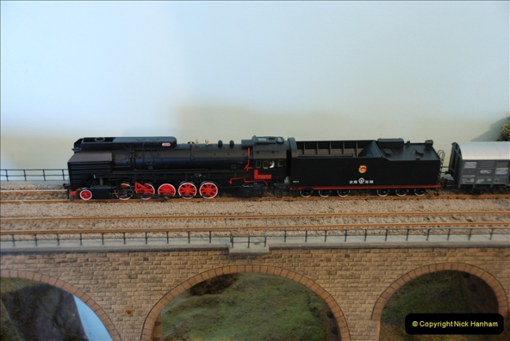 Some of your Host's model locomotives running on a friends railway.  (39)39