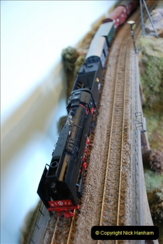 Some of your Host's model locomotives running on a friends railway.  (40)40