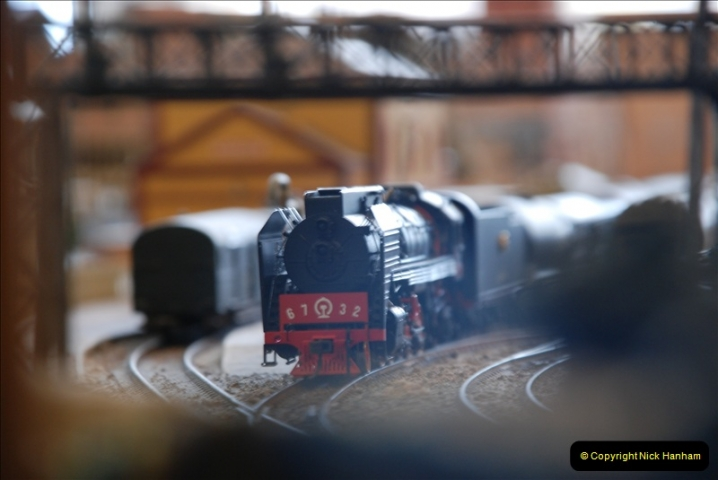 Some of your Host's model locomotives running on a friends railway.  (44)44