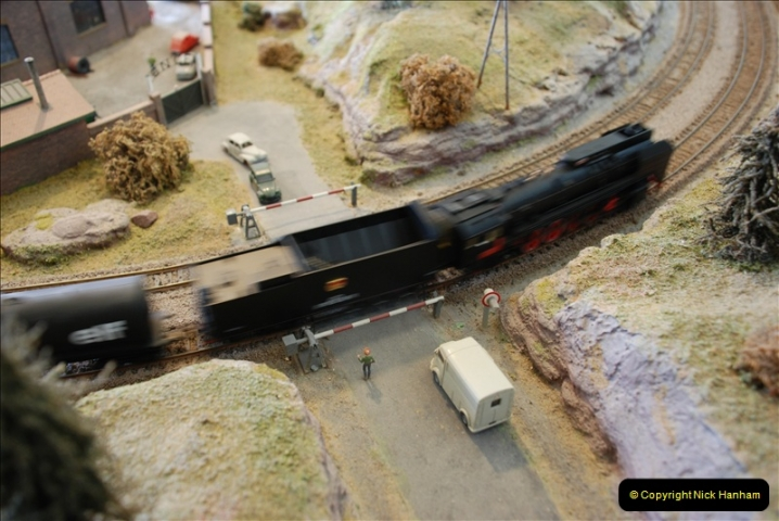 Some of your Host's model locomotives running on a friends railway.  (47)47