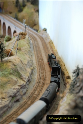 Some of your Host's model locomotives running on a friends railway.  (48)48
