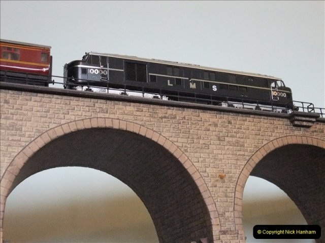 Some of your Host's model locomotives running on a friends railway.  (5)05