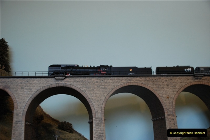Some of your Host's model locomotives running on a friends railway.  (51)51