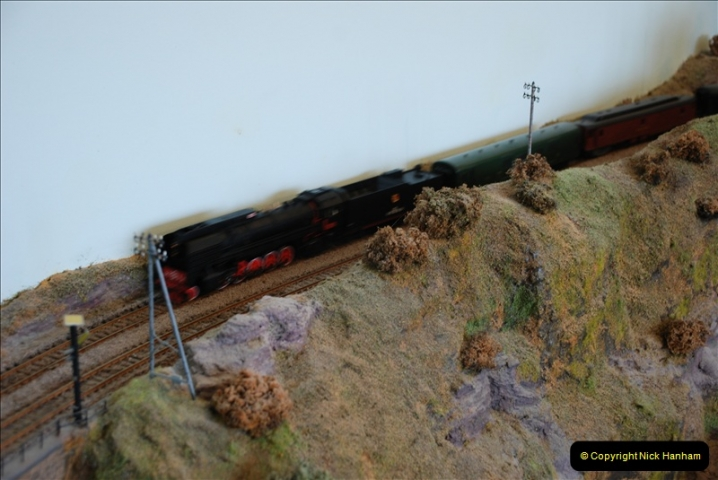 Some of your Host's model locomotives running on a friends railway.  (52)52