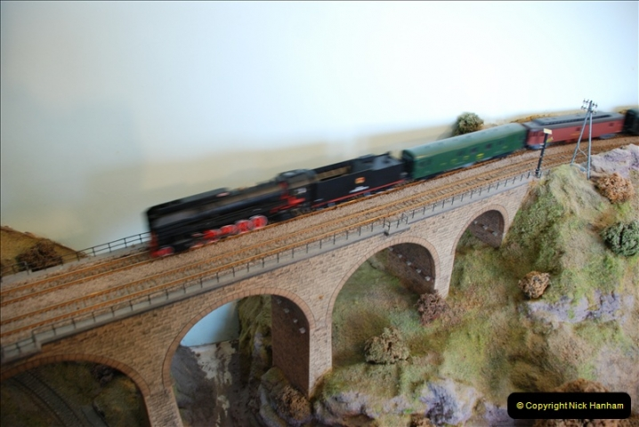 Some of your Host's model locomotives running on a friends railway.  (54)54