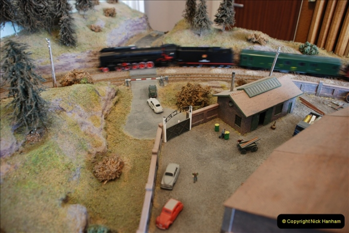 Some of your Host's model locomotives running on a friends railway.  (55)55
