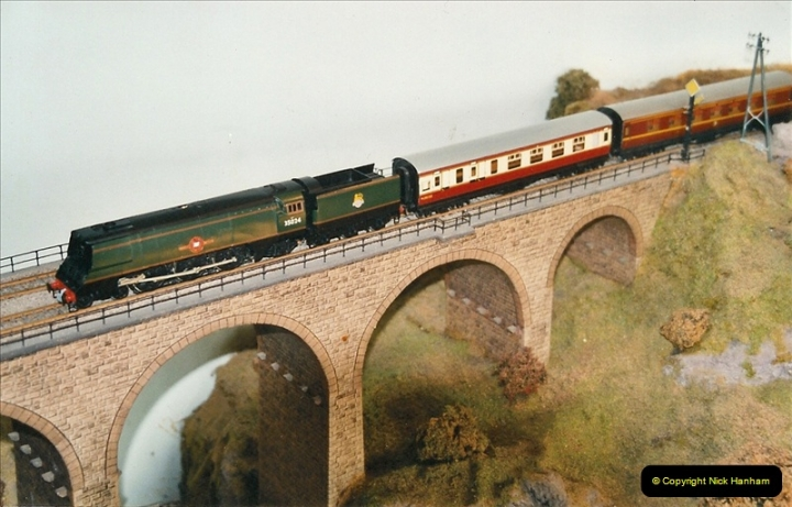 Some of your Host's model locomotives running on a friends railway.  (58)58