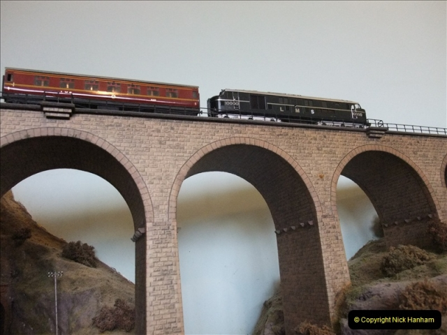 Some of your Host's model locomotives running on a friends railway.  (6)06