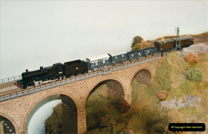 Some of your Host's model locomotives running on a friends railway.  (60)60