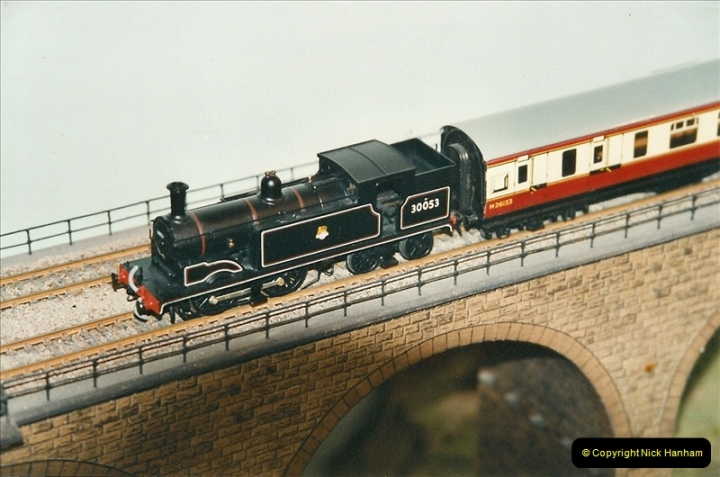 Some of your Host's model locomotives running on a friends railway.  (64)64
