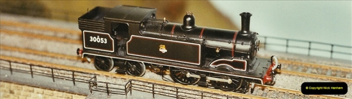 Some of your Host's model locomotives running on a friends railway.  (67)67