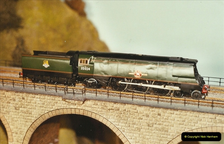 Some of your Host's model locomotives running on a friends railway.  (68)68