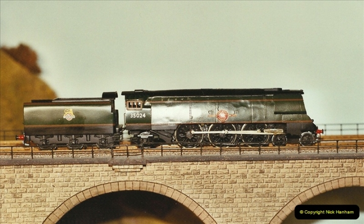 Some of your Host's model locomotives running on a friends railway.  (69)69