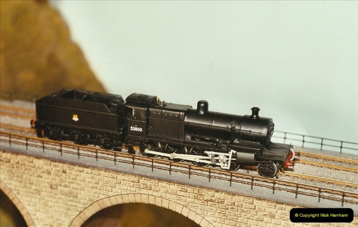 Some of your Host's model locomotives running on a friends railway.  (70)70