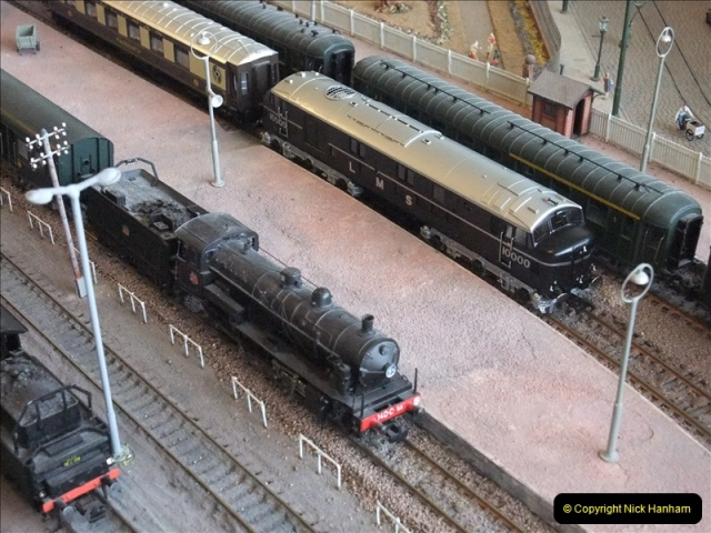 Some of your Host's model locomotives running on a friends railway.  (9)09