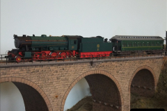 Some of your Host's model locomotives running on a friends railway.  (15)15